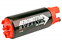AEROMOTIVE 11142 340 Stealth Fuel Pump (Offset Inlet, Inline)
