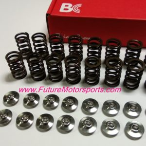 Brian Crower Valve Springs & Retainer Set 3SGTE (Single spring, titanium retainer used on shim under bucket)