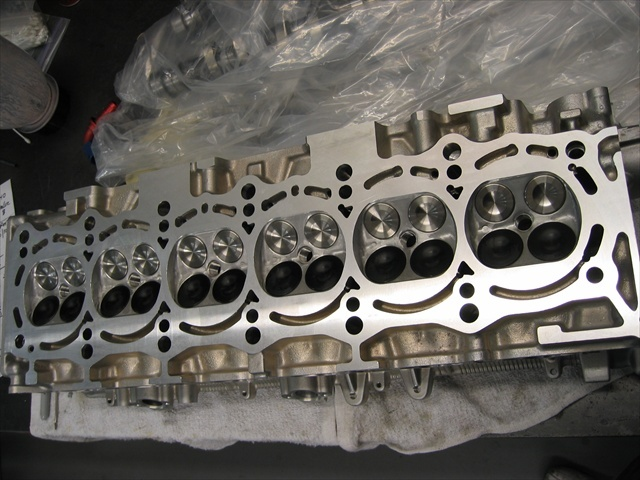 SKYLINE RB26DETT CYLINDER HEAD STAGE 2