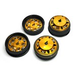 Brian Crower Adjustable Cam Gears Set (4) With ARP Fastener Bolts