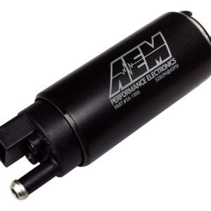 AEM High Flow In Tank Fuel Pump 320Lph 50-1000 (Offset Inlet, Inline)