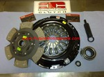 COMPETITION CLUTCH KIT STAGE 4 CERAMIC 6 PAD SPRUNG
