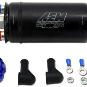 AEM 380lph Inline High Flow Fuel Pump. 380lph@43psi 50-1005
