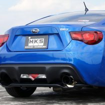 HKS Hi-Power Muffler GT86 BRZ Scion (single exit)